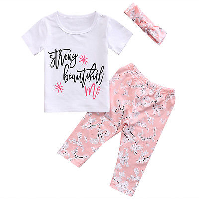 Strong Beautiful Me Clothing Set (3 piece Set) - Clothing Sets - baby-petite