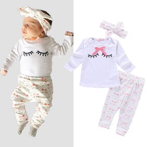 Twinkle Eyes Clothing Set (3 Piece Set) - Baby Petite - Clothing Sets
