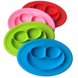Basic Essential High Grade Anti-Slip Silicone Baby Plate - Tableware - baby-petite