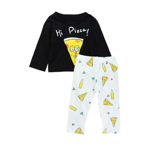 Hi Pizza Party Two Piece Pajamas