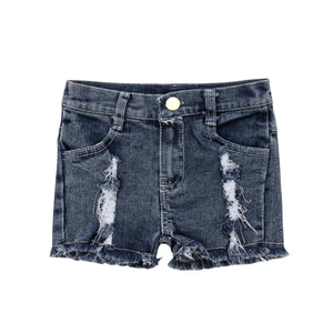 Rugged Ripped Summer Denim Shorts