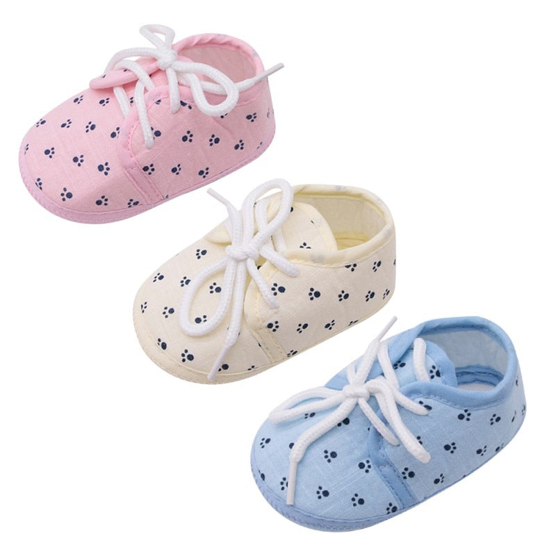 Little Paw Paw Lace Up Shoes