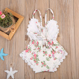 Sweet Garden Lace Summer Romper