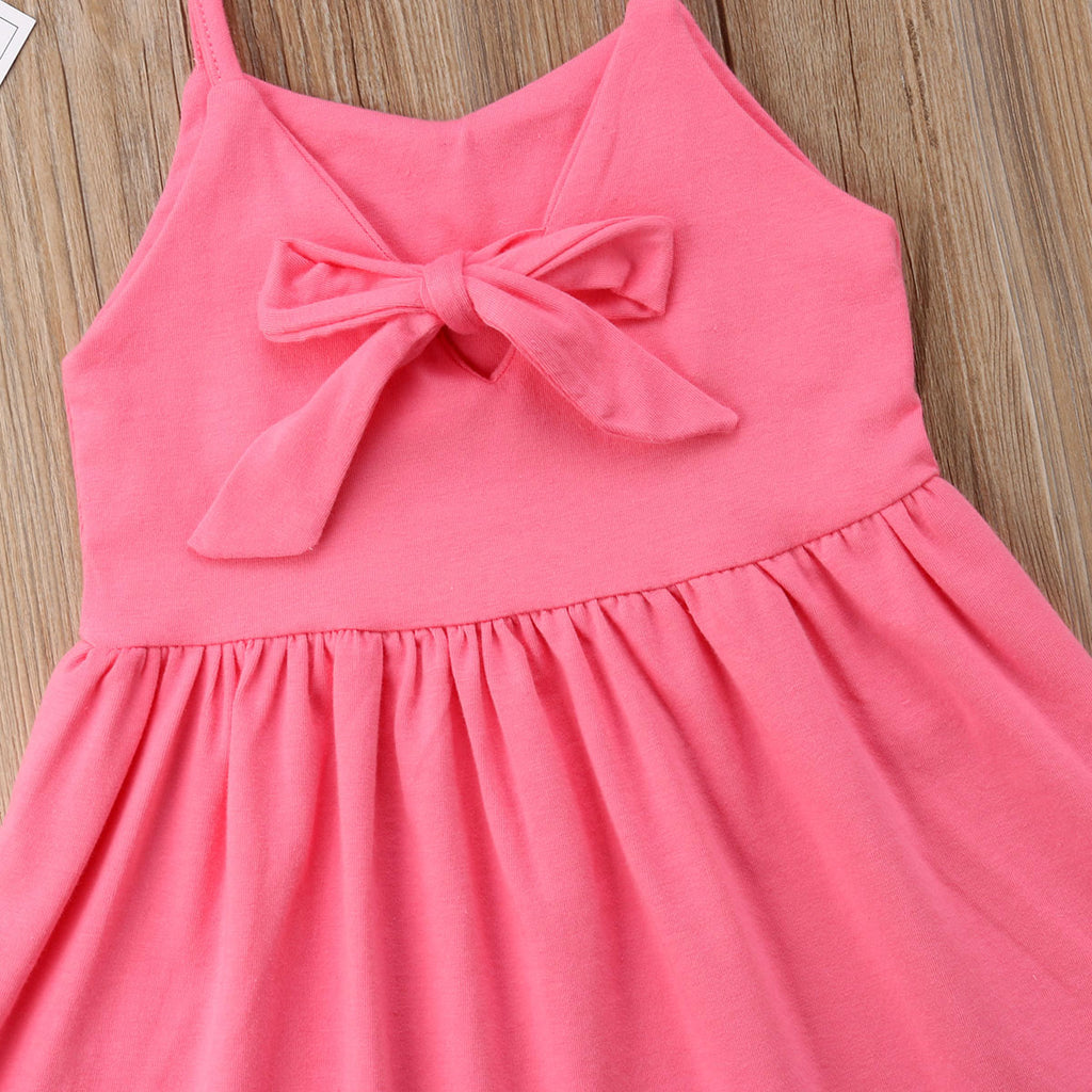 Sarah Bow Knot Summer Dress - Dresses - baby-petite