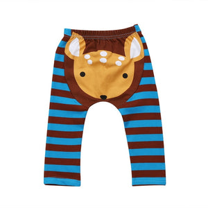 Oh My Deer Striped Leggings