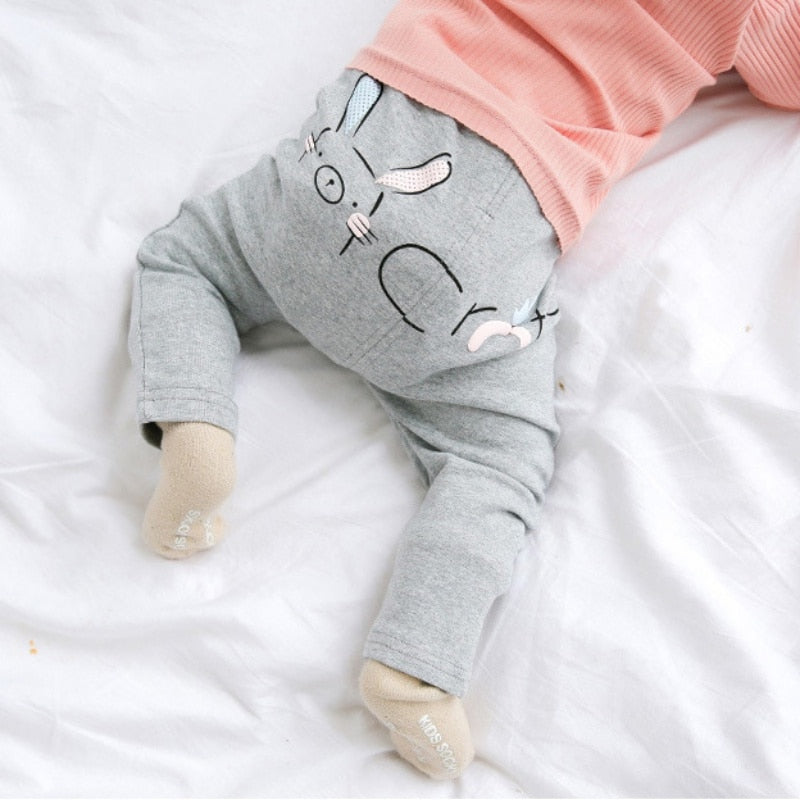 Bunny & Carrots Warm Soft Leggings - Kids Petite - Baby & Kids Clothing