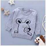 Barry The Bear Warm Sweater - Kids Petite - Baby & Kids Clothing
