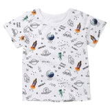 Space Life Casual Cotton T-Shirt