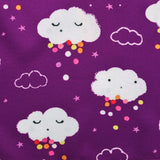 Purple Sleeping Cloud Button Dress - Dresses - baby-petite