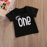 I Am The Only One Cotton T-Shirt - Tops - baby-petite