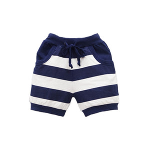 Let's Go Sailing Striped Summer Shorts
