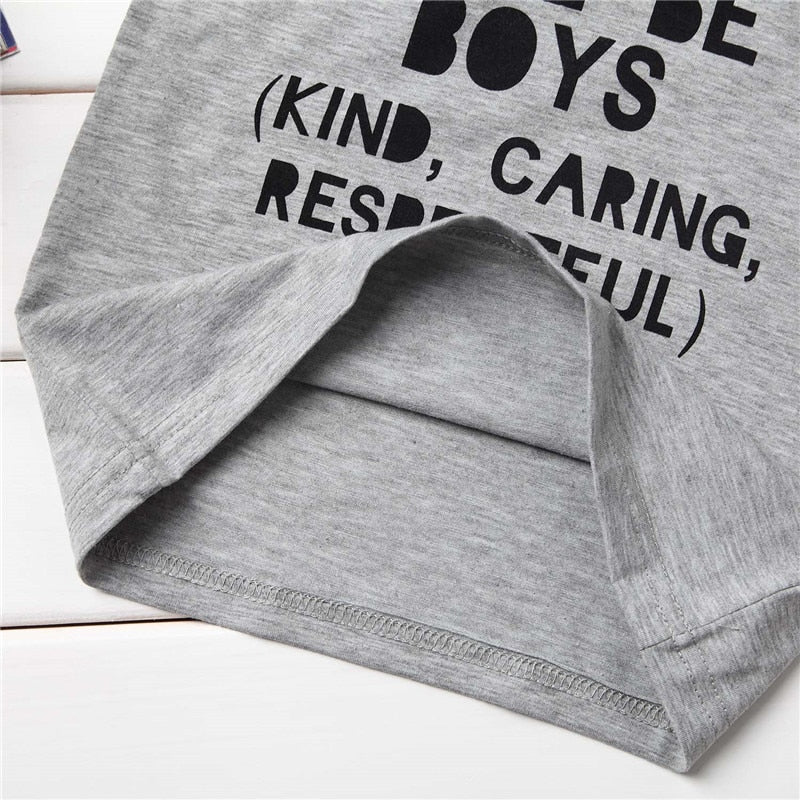 Boys Will Be Boys Casual Cotton T-Shirt