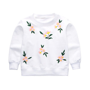 White Lilies Warm Sweater