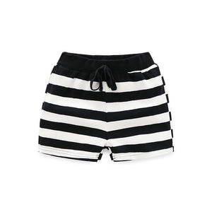 Sailor Striped Summer Drawstring Beach Outdoor Shorts