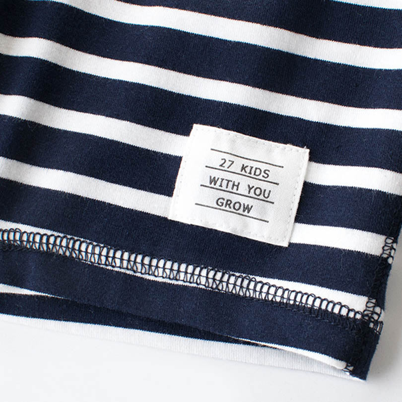 The Nautical Striped Cotton Summer Shorts - Shorts - baby-petite