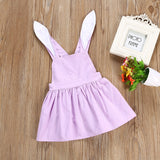 Lilac Bunny Ear Easter Dress - Dresses - baby-petite