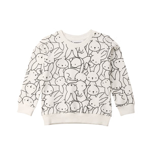 Bunnies Long Sleeve Warm Sweater