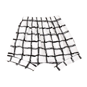 The Grid Plaid Summer Shorts