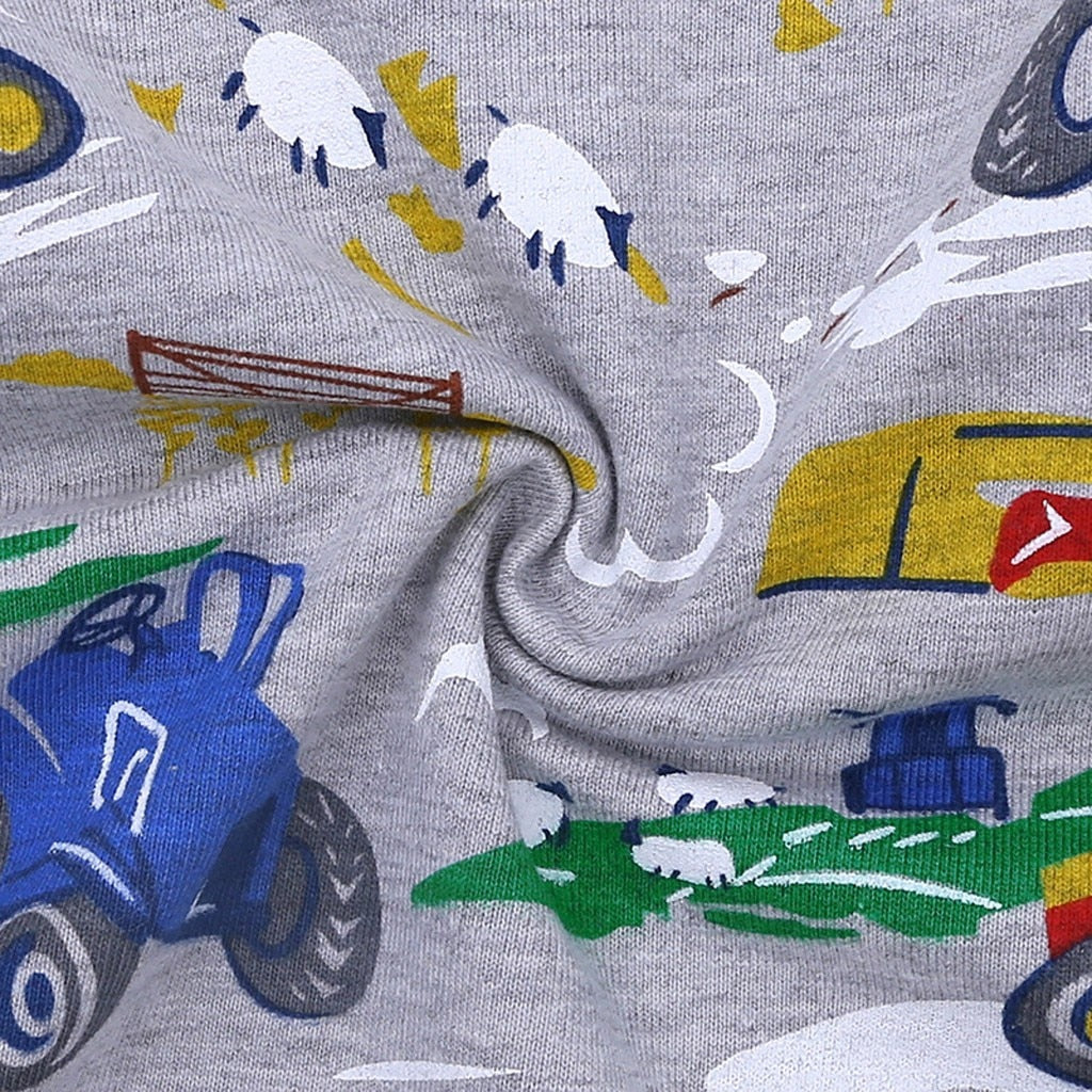 Vintage Grunge Wild Car Cotton T-Shirt
