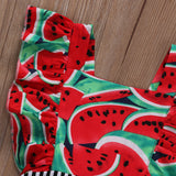 Watermelon Chic Striped Romper - Rompers - baby-petite