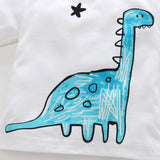 Wishing Upon A Star Dinosaur Long Sleeve T-Shirt - Tops - baby-petite