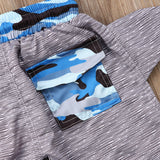 The Shark Tail Drawstring Swimming Trunk