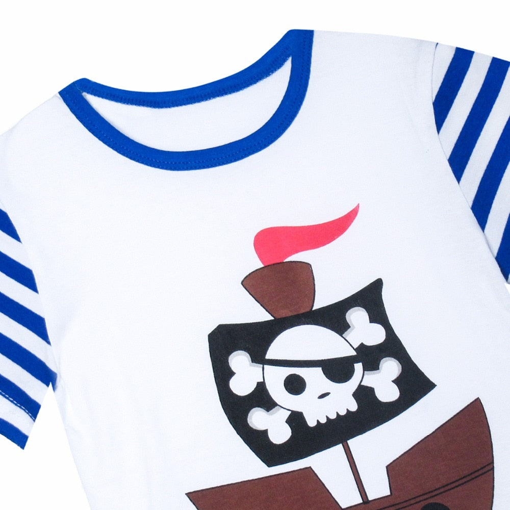 Pirate Life Two Piece Pajamas