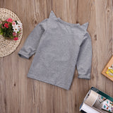 Just Foxing Around Long Sleeve T-Shirt - Tops - baby-petite