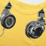 Music Lover Cotton T-Shirt - Tops - baby-petite