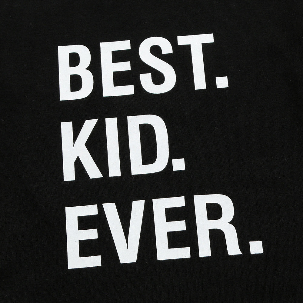 Best Kid Ever Cotton T-Shirt - Tops - baby-petite