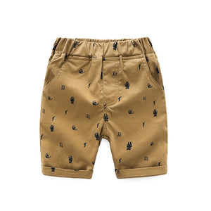 Little Cute Prints Casual Board Shorts - shorts - baby-petite