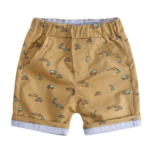 Little Car Summer Beach Loose Shorts - Shorts - baby-petite