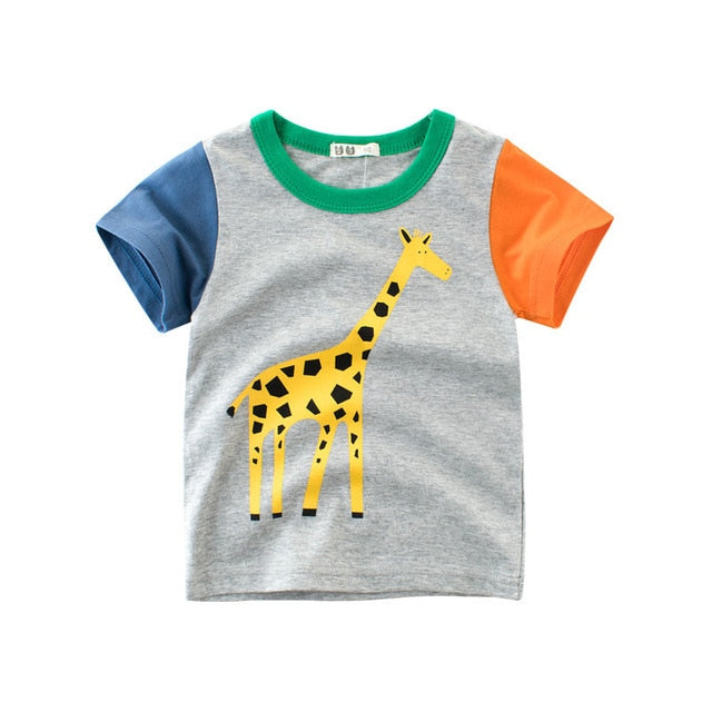 Animal Kingdom Casual Cotton T-Shirt