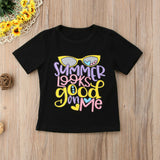 Summer Looks Good On Me T-Shirt - Tops - baby-petite