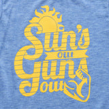 Suns Out Guns Out Summer Edition Tank Top - Tops - baby-petite