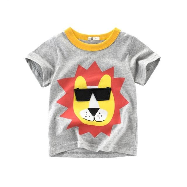The Coolio Animal Kingdom Cotton T-Shirt - Tops - baby-petite