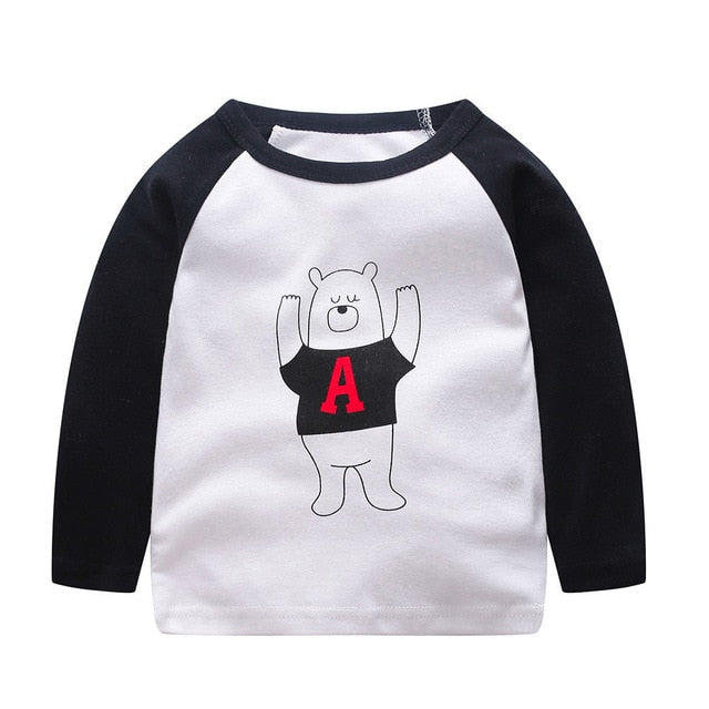 Animal Buds For Life Long Sleeve T-Shirt - Tops - baby-petite