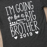 I'm Going To Be A Big Brother 2019 T-Shirt - Tops - baby-petite