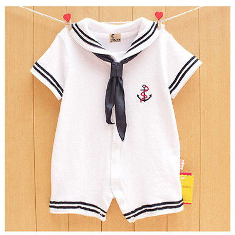 Sailor On Duty Romper - Tops - baby-petite