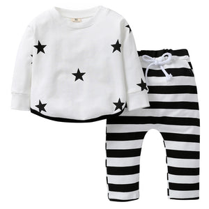 The Star Striped Two Piece Pajamas