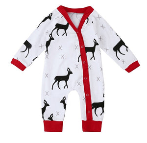 Dearest Deer Long Sleeve Pajamas