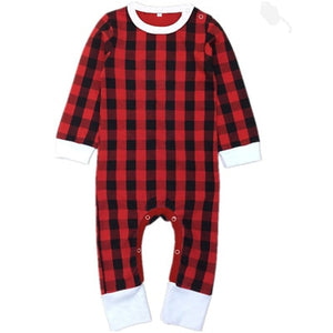 Christmas Lovin' Plaid Long Sleeve Pajamas