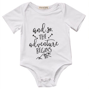 And So The Adventure Begins Romper