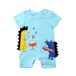 The Dino Band Romper