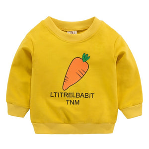 Little Rabbit With Orange Carrot Sweater