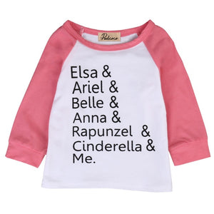 Princesses & Me Long Sleeve Top