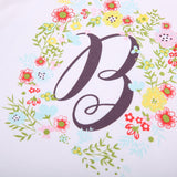 Flower Bee Casual Cotton T-Shirt