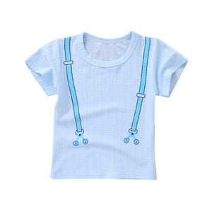 Cute Suspender Casual Cotton T-Shirt