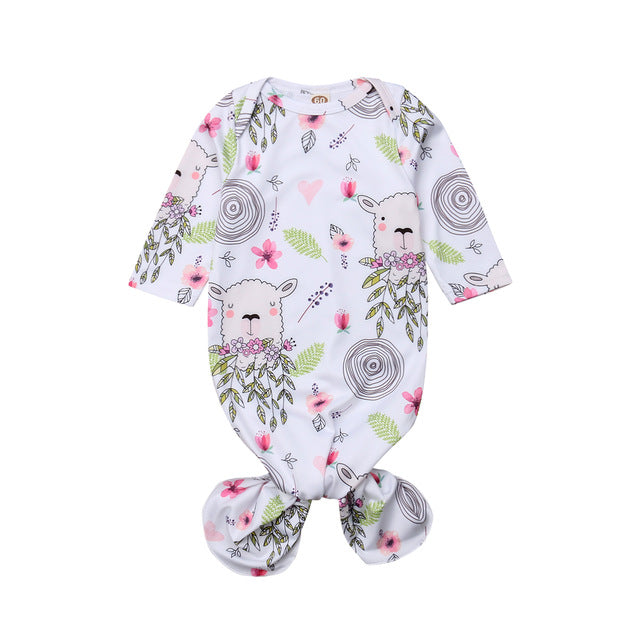 Garden Alpaca Dress Pajamas (0-6M)