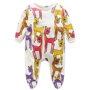 Oh My Deer Long Sleeve Pajamas